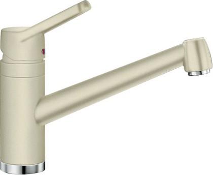 Смеситель кухонный однорычажный с длинным рычагом управления, SILGRANIT жасмин Blanco ACTIS 512899