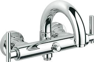 Смеситель вентильный для ванны с изливом, хром Grohe ATRIO 25011000