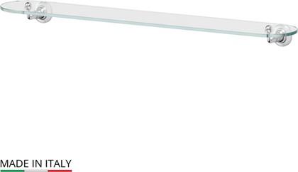 Полка для ванной стеклянная 80см, хром 3SC STI 016