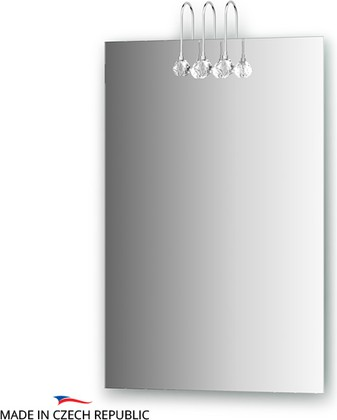 Зеркало 50х75см со светильниками Ellux CRY-C3 0205