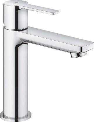 Смеситель для раковины Grohe Lineare S-Size, с нажимным донным клапаном, хром 23106001