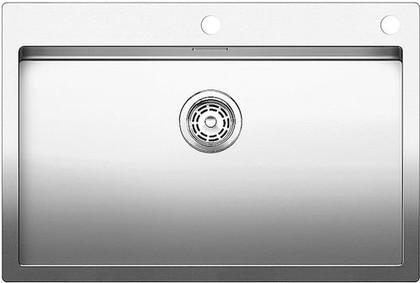 Кухонная мойка без крыла, с клапаном-автоматом, нержавеющая сталь зеркальной полировки Blanco CLARON 700-IF/A 515644