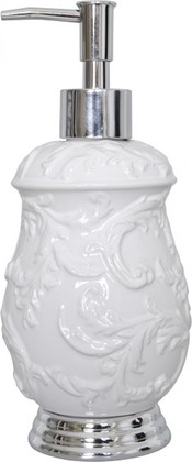 Ёмкость для жидкого мыла белая Spirella MYLENE 4006893