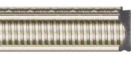 Зеркало 67x97см с фацетом 25мм в багетной раме серебряный акведук Evoform BY 1278