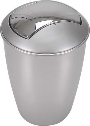 Ведро для мусора Spirella Atlanta, 5л, серебристый 1004265