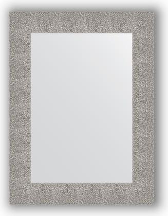 Зеркало в багетной раме 60x80см чеканка серебряная 90мм Evoform BY 3055