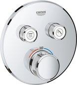 Термостат для душа Grohe Grohtherm SmartControl, 2 потребителя, хром 29119000