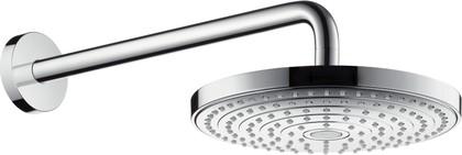 Верхний душ с настенным держателем, хром Hansgrohe Raindance Select S 240 26466000