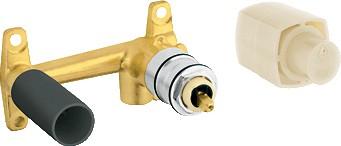 Скрытая часть для однорычажного смесителя на 2 отверстия для раковины, DN 15 Grohe GRANDERA 23319000