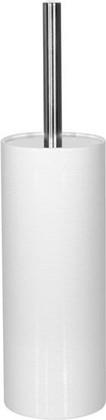Ёрш с подставкой керамика, белый Spirella Tube Ribbed 1018233