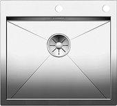 Кухонная мойка Blanco Zerox 500-IF/A, клапан-автомат, полированная сталь 521630