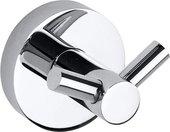 Крючок для ванной Bemeta Omega, двойной, хром 104106032
