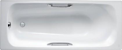 Ванна чугунная 160x70см с отверстиями для ручек, Antislip Jacob Delafon MELANIE E2935-00