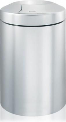 Урна для бумаг с защитой от возгорания 15л сталь матовая Brabantia 378904