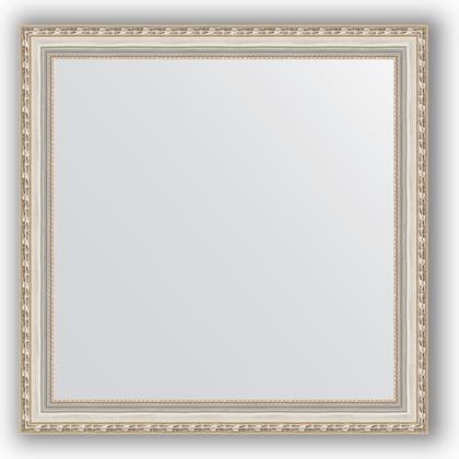 Зеркало в багетной раме 75x75см версаль серебро 64мм Evoform BY 3238