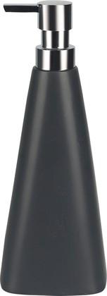 Ёмкость для жидкого мыла керамическая чёрная Spirella XL-DISPENSER 1008083