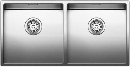 Кухонная мойка без крыла, нержавеющая сталь зеркальной полировки Blanco Claron 400/400-IF 517230