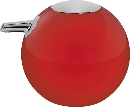 Дозатор для жидкого мыла Spirella Bowl Shiny, красный 1017255