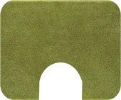 Коврик с вырезом под туалет 50x60см зелёный Grund Comfort 2399.06.4227