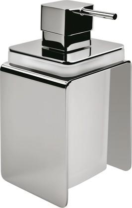 Дозатор для жидкого мыла Colombo Forever, стекло, отдельностоящий, хром B9334