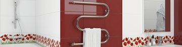 Полотенцесушитель электрический 600x600 Стилье M-образный 00503-6060
