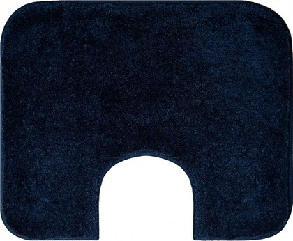 Коврик с вырезом под туалет 60x50см тёмно-синий Grund COMFORT WC 2399.06.4186