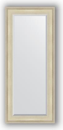 Зеркало 63x148см с фацетом 30мм в багетной раме травлёное серебро Evoform BY 1266