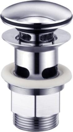 Система слива-перелива для умывальников с отверстием для перелива, хром Kludi NEW WAVES 1042105-00