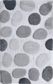 Коврик для ванной комнаты хлопковый 45x80см серый Spirella Galet 4006904