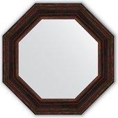 Зеркало Evoform Octagon 692x692 в багетной раме 99мм, тёмный прованс BY 3827