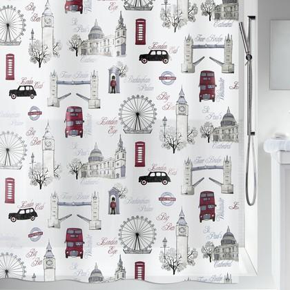 Штора для ванной комнаты 180x200см Spirella WESTMINSTER 1017898