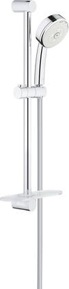 Душевой гарнитур Grohe Tempesta Cosmopolitan 100, 3 вида струи, с полочкой, хром 27929002