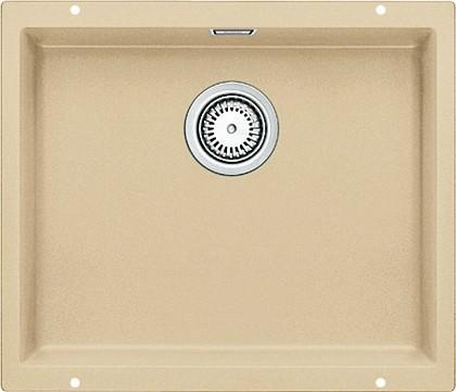 Кухонная мойка без крыла, с клапаном-автоматом, гранит, шампань Blanco Subline 500-U 513953