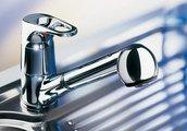 Смеситель кухонный однорычажный с выдвижным изливом, хром Blanco WEGA-S 512035