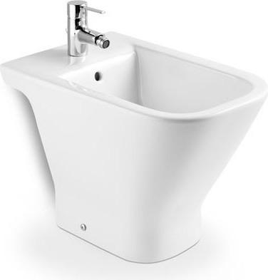 Керамическое напольное белое биде Roca The GAP 357474000