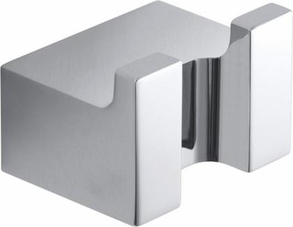 Крючок для полотенец Bemeta Via, двойной, хром 135006232