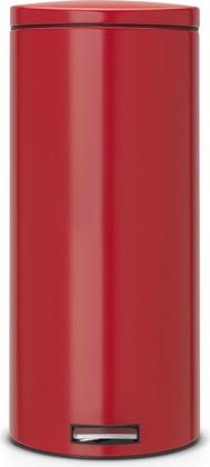 Мусорный бак 30л с педалью, MotionControl, красный Brabantia 483769