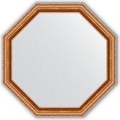 Зеркало Evoform Octagon 722x722 в багетной раме 64мм, версаль бронза BY 3726