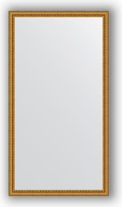 Зеркало 72x132см в багетной раме бусы золотые Evoform BY 1097