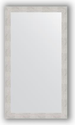 Зеркало в багетной раме 76x136см серебреный дождь 70мм Evoform BY 3304