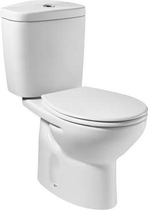 Унитаз напольный, комплект (чаша, бачок, сиденье с микролифтом) Roca VICTORIA 342399-2