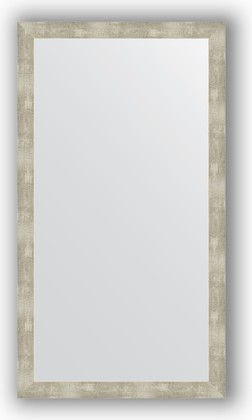 Зеркало в багетной раме 74x134см алюминий 61мм Evoform BY 3300