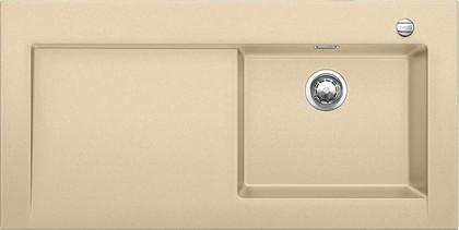 Кухонная мойка крыло слева, с клапаном-автоматом, гранит, шампань Blanco Modex-M 60 518333