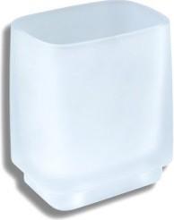Стеклянный стакан настольный Novaservis Metalia-4 6406/1.0