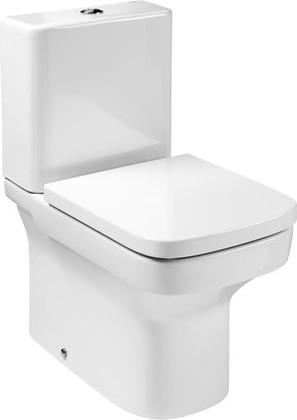 Унитаз напольный, выпуск Vario, комплект (чаша, бачок, сиденье с микролифтом) Roca DAMA 342787-3