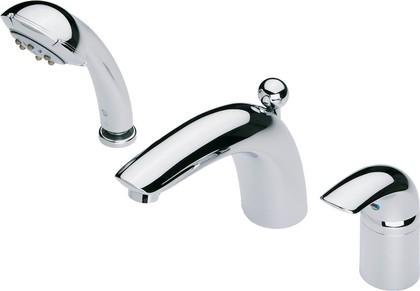 Смеситель встраиваемый для ванны с душем на 3 отверстия с ручным душем Fontana, хром Oras VIENDA 1750