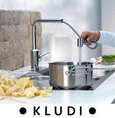 Смесители KLUDI для тех, кто ищет интересные разносторонние  решения для кухни