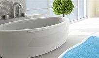 Коврик для ванной 60x100см голубой Grund Tutti 2571.16.4272