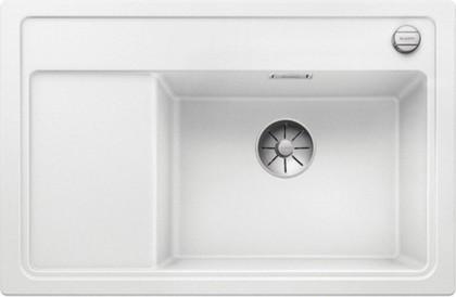 Кухонная мойка Blanco Zenar XL 6S Compact, чаша справа, клапан-автомат, белый 523758