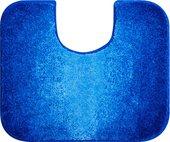 Коврик для туалета Grund Moon, 60x50см, полиакрил, синий 2605.06.248